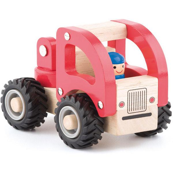 Drveni auto Vatrogasni kamion Woody 91804 - ODDO igračke