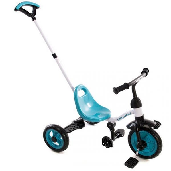 Tricikl Wow me blue Kikka Boo 31006020031 - ODDO igračke