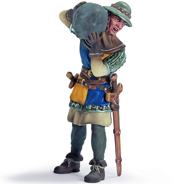 Schleich Pešadijski vojnik sa kamenom 70053 - ODDO igračke