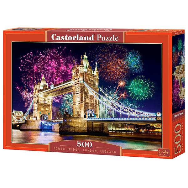Castorland puzzla 500 Pcs Tower Bridge London England 52592 - ODDO igračke