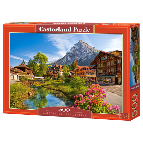 Castorland puzzla 500 Pcs Switzerland Kandersteg 52363 - ODDO igračke