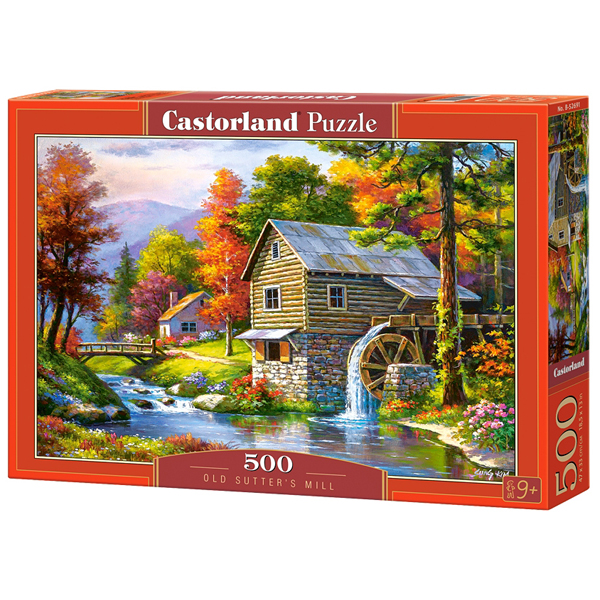Castorland puzzla 500 Pcs Old Sutters Mill 52691 - ODDO igračke