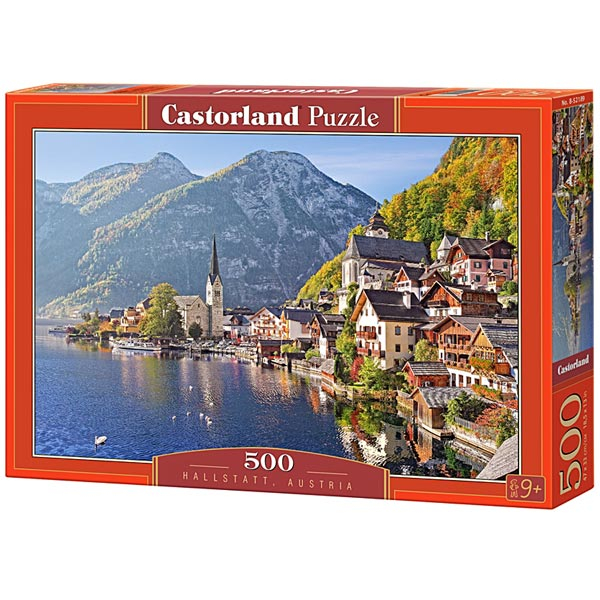 Castorland puzzla 500 Pcs Hallstatt, Austria 52189 - ODDO igračke