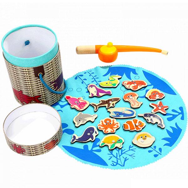 Top Bright Igra sa magnetima Pecanje 120372 - ODDO igračke