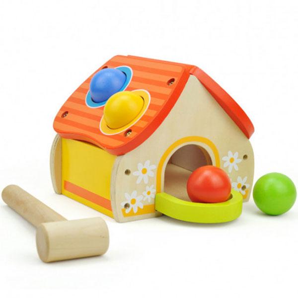 Top Bright Kućica sa čekićem i lopticama 6947 - ODDO igračke