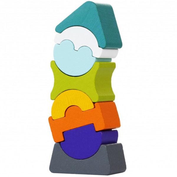 Cubika Drveni Balans Toranj (8 elemenata)  12701 - ODDO igračke