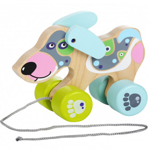 Cubika Drvena igračka na povlačenje - KUCA 13364 - ODDO igračke