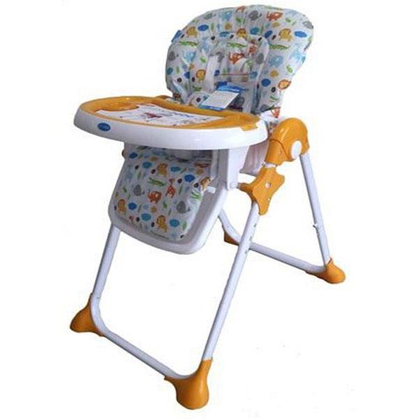 Stolica za hranjenje YUMMY narandžasta 0171097 - ODDO igračke