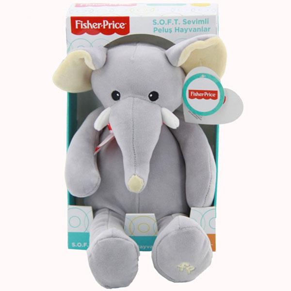 Plišana igračka Slon 35cm Fisher Price 776741 - ODDO igračke
