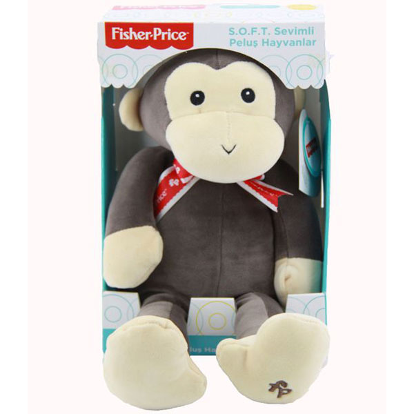 Plišana igračka Majmunče 35cm Fisher Price 776703 - ODDO igračke