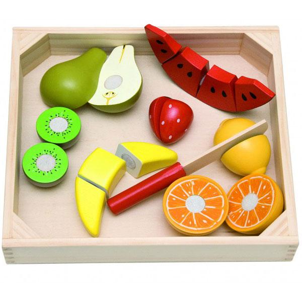 Seckanje voća Woody 90670 - ODDO igračke