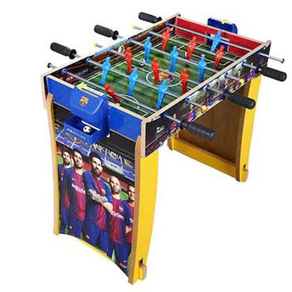 Fudbaski set sa nogarima FC Barselona drveni 008040 - ODDO igračke