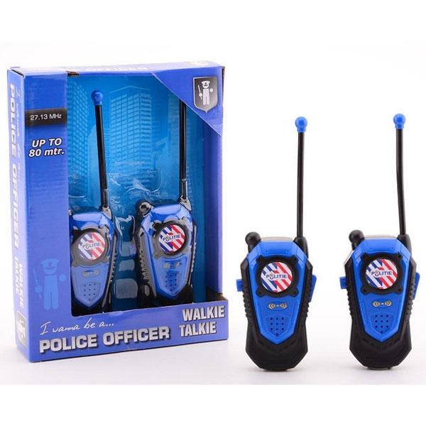 Policijski woki-toki 80m 33814 - ODDO igračke