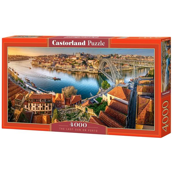 Castorland puzzla 4000Pcs The Last Sun on Porto 400232 - ODDO igračke
