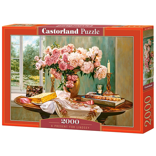 Castorland puzzla 2000 Pcs A Present for Lindsey C-200719 - ODDO igračke
