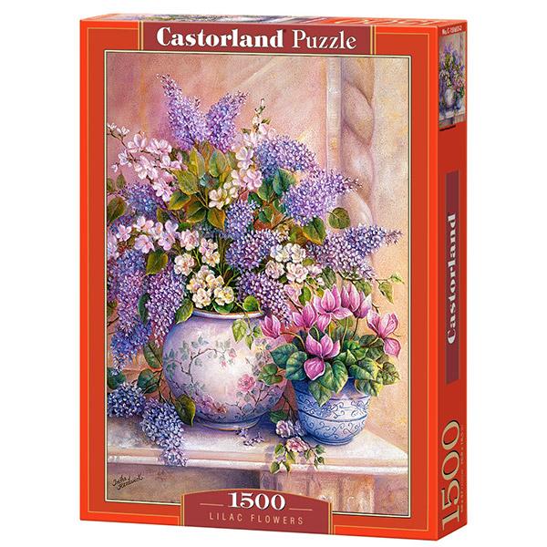 Castorland puzzla 1500 Pcs Lilac Flowers C-151653 - ODDO igračke