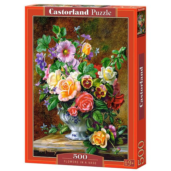 Castorland puzzla 500 Pcs Flowers in Vase B-52868 - ODDO igračke