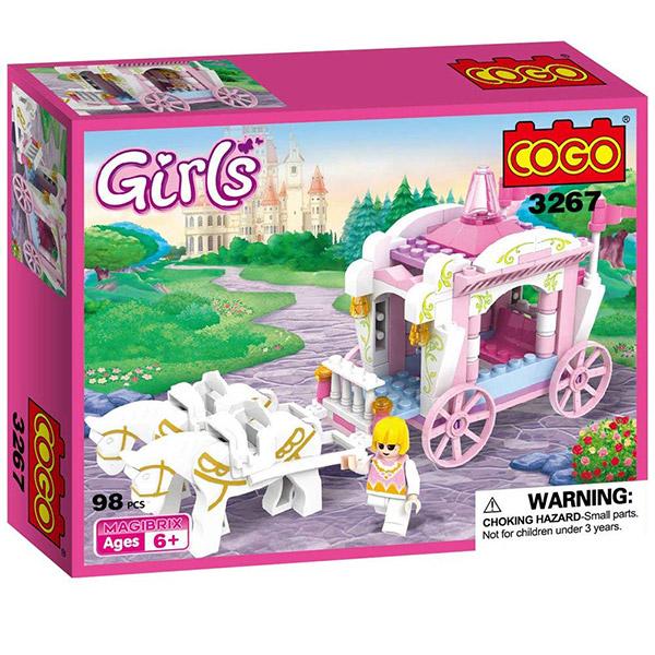 COGO Kocke Girls 98pcs 532679 - ODDO igračke