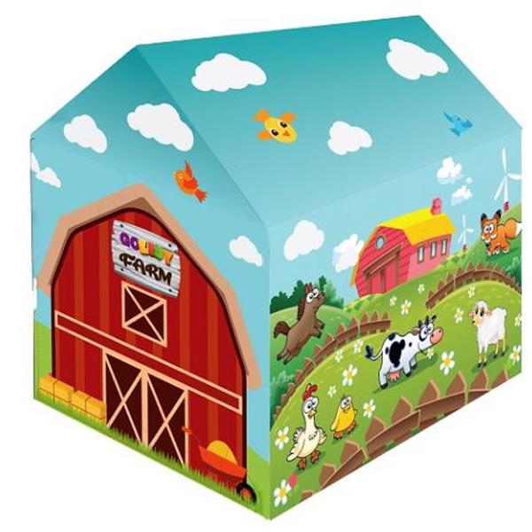 Šatori za decu Farm 67x100x100cm 177568 - ODDO igračke