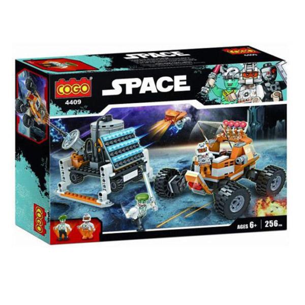 COGO Kocke Space Set Car 544092 - 256 delova - ODDO igračke