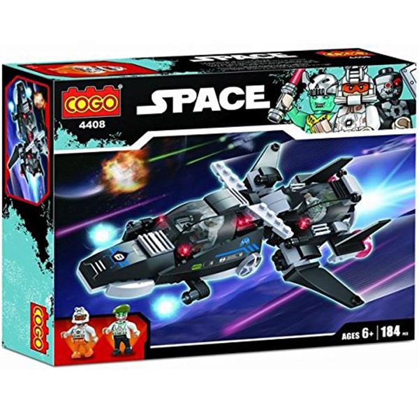 COGO Kocke Space Ship 544085 - 184 dela - ODDO igračke