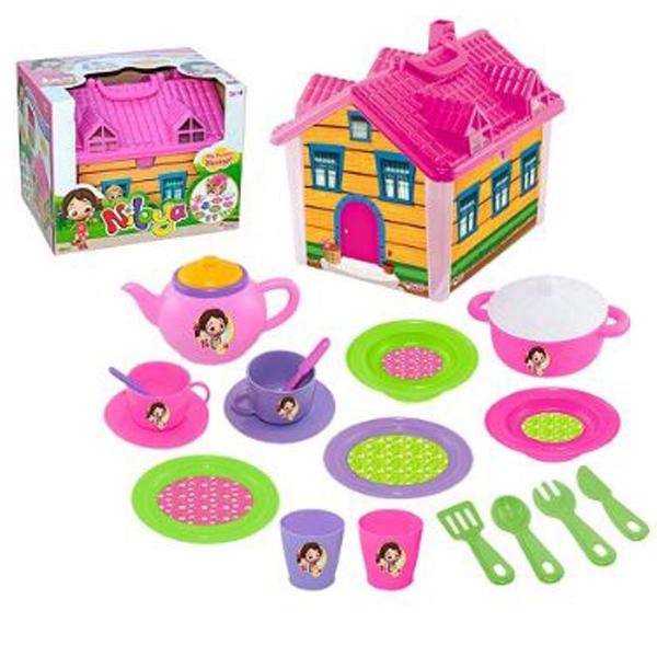 Čaj set kućica set Dede 033106 - ODDO igračke