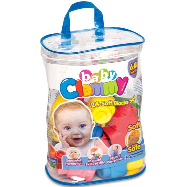 Mekane gumene kocke Clemmy baby 24pcs CL17134 - ODDO igračke