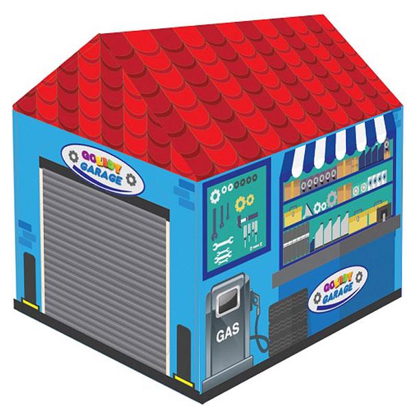 Šatori za decu Garage plavi 178275 - ODDO igračke