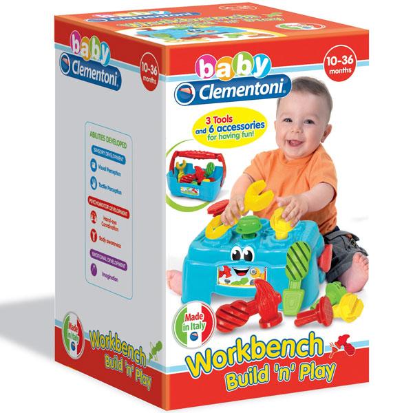 Mekane gumene kocke Clemmy Sto za igru 2in1 CL17042 - ODDO igračke