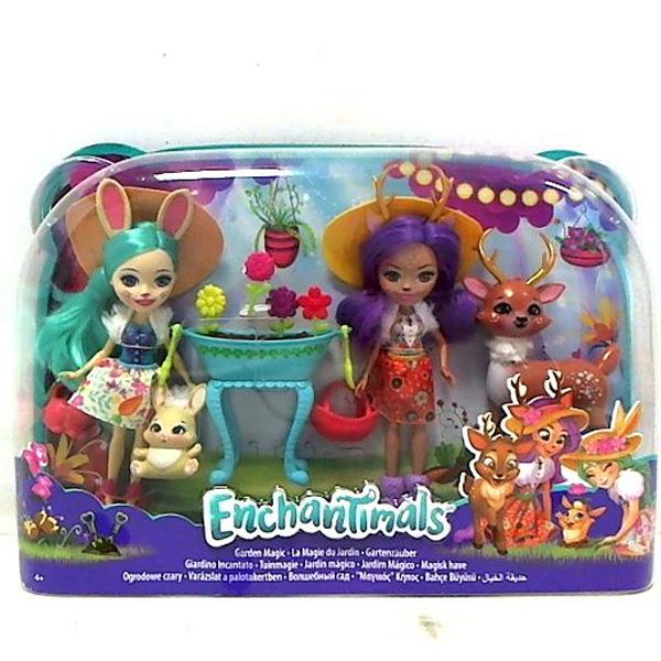 Enchantimals set sa dve lutke i dva velika ljubimca MAFDG01 - ODDO igračke