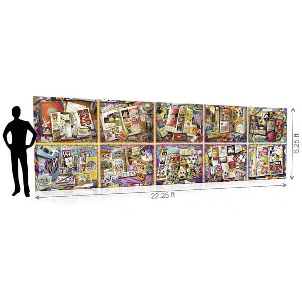 Ravensburger puzzle (slagalice) Mickey 40320 delova RA17828  - ODDO igračke