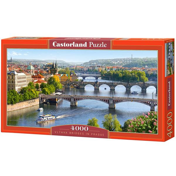 Castorland puzzla 4000Pcs Vltava Bridges in Prague 400096 - ODDO igračke