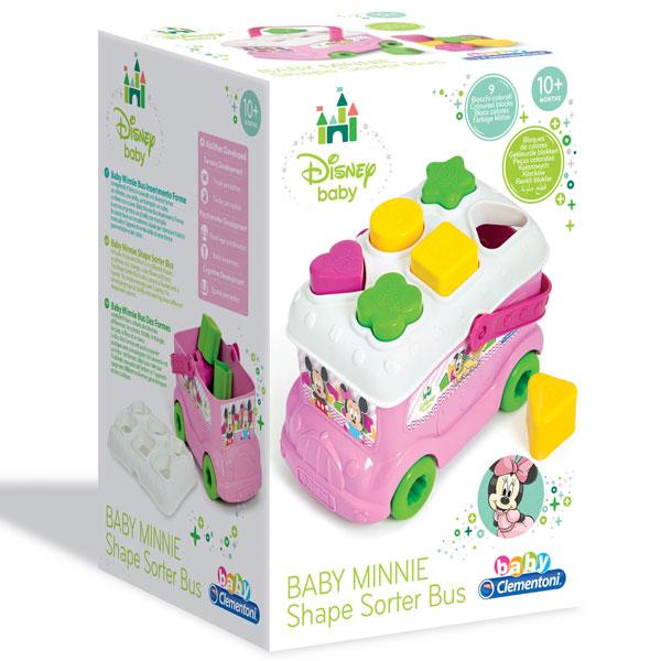 Autobus sa oblicima Minnie Disney Clementoni CL14933 - ODDO igračke