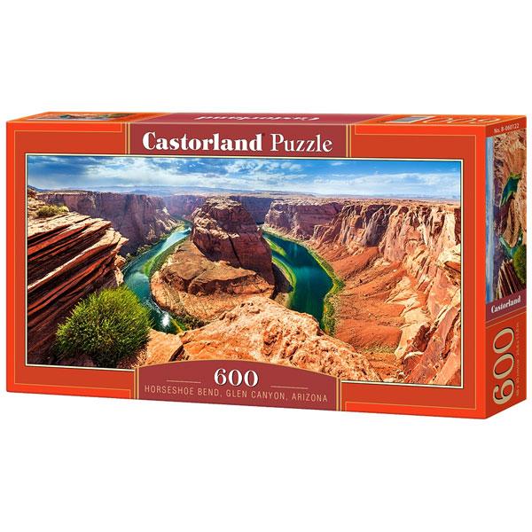 Castorland puzzla 600 Pcs Horseshoe Bend, Glen Canyon, Arizona 060122 - ODDO igračke