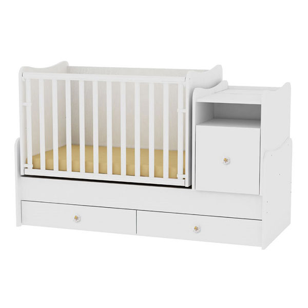 Drveni Krevetac Trend Plus White 10150400024 - ODDO igračke