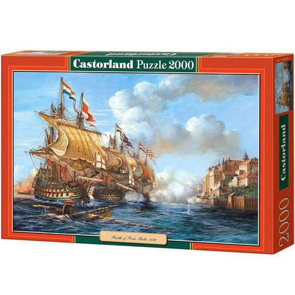 Castorland puzzla 2000 Pcs Battle of Portobello 200245 - ODDO igračke