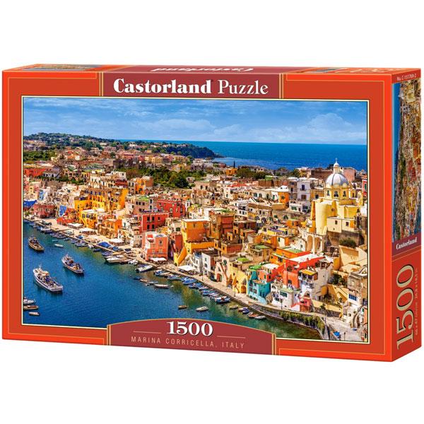 Castorland puzzla 1500 pcs Marina Corricella, Italy 151769 - ODDO igračke