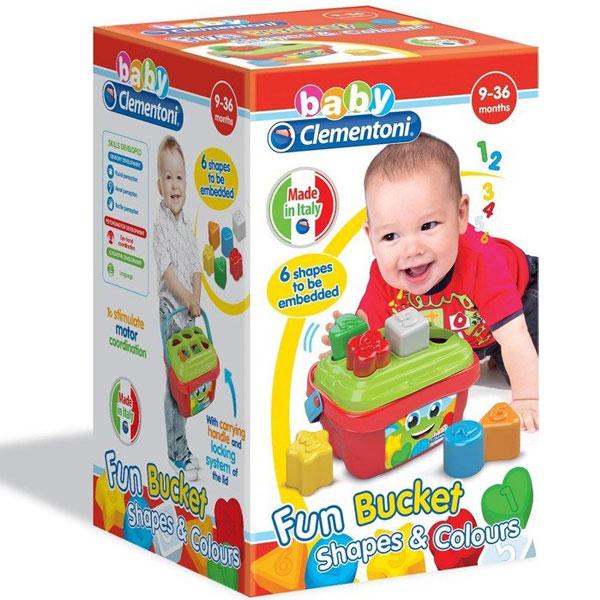 Mekane gumene kocke Clemmy Kutija sa oblicima CL17106 - ODDO igračke