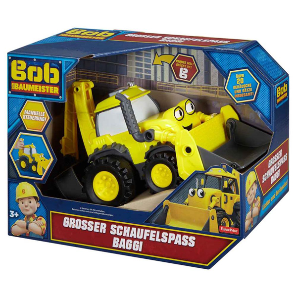Bob Builder Bager Fisher Price DVT26 nemački jezik - ODDO igračke