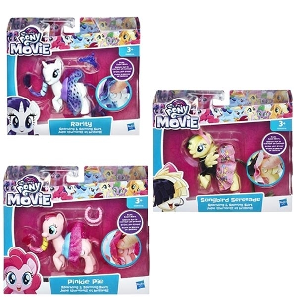 My Little Pony The Movie Sparkling & Spinning Skirt Pinkie Pie E0186EU40 - ODDO igračke