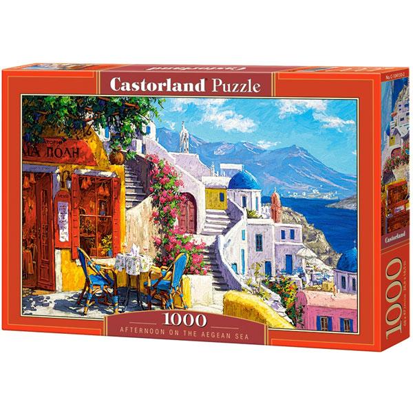 Castorland puzzla 1000 Pcs Afternoon on the Aegean Sea 104130 - ODDO igračke