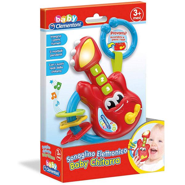 Zvečka Baby Gitara Clementoni CL17220 - ODDO igračke