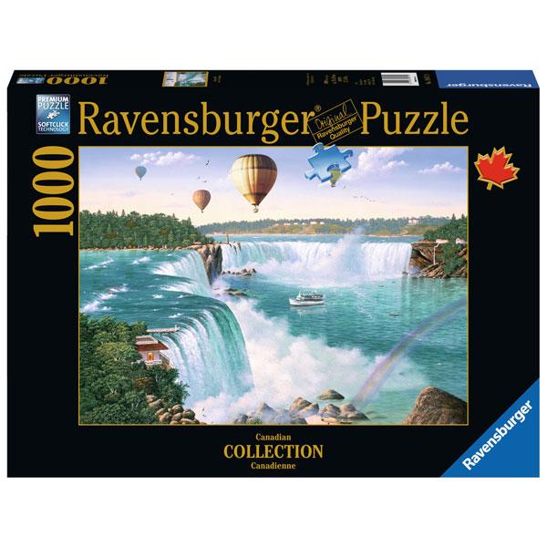 Ravensburger puzzle (slagalice) Nijagarini vodopadi 1000pcs RA19871 - ODDO igračke