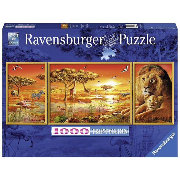 Ravensburger puzzle (slagalice) Afrička lepota 1000pcs RA19836 - ODDO igračke
