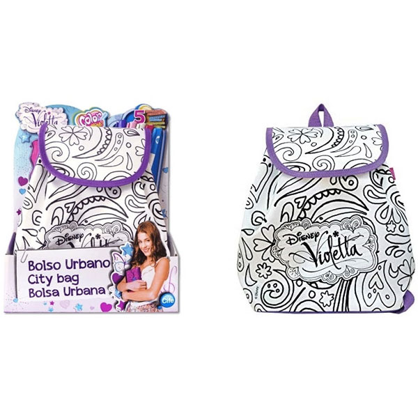 Violetta Torbica za bojenje City Bag 40359 - ODDO igračke