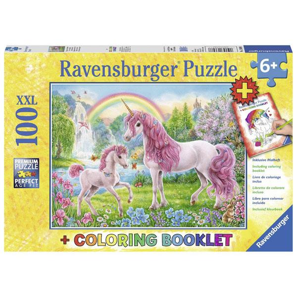 Ravensburger puzzle (slagalice) 100pcs Magični jednorozi RA13698 - ODDO igračke