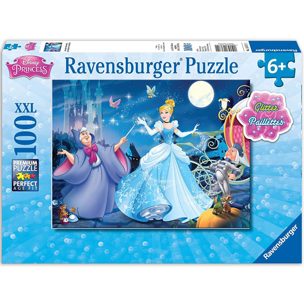 Ravensburger puzzle (slagalice) 100pcs Princeze RA13671 - ODDO igračke