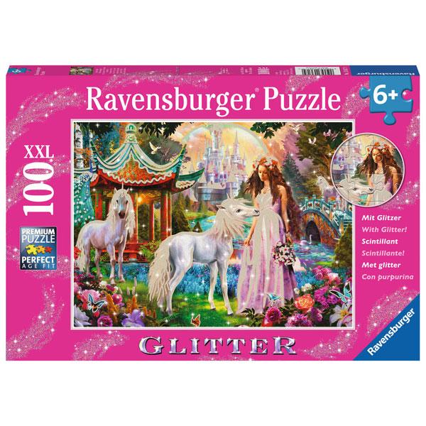 Ravensburger puzzle (slagalice) Magična šuma puzzle sa gliterom RA13617 - ODDO igračke