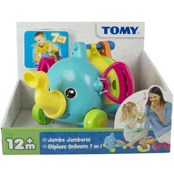 Muzičko Slonče Jumbo Tomy TM72377 - ODDO igračke