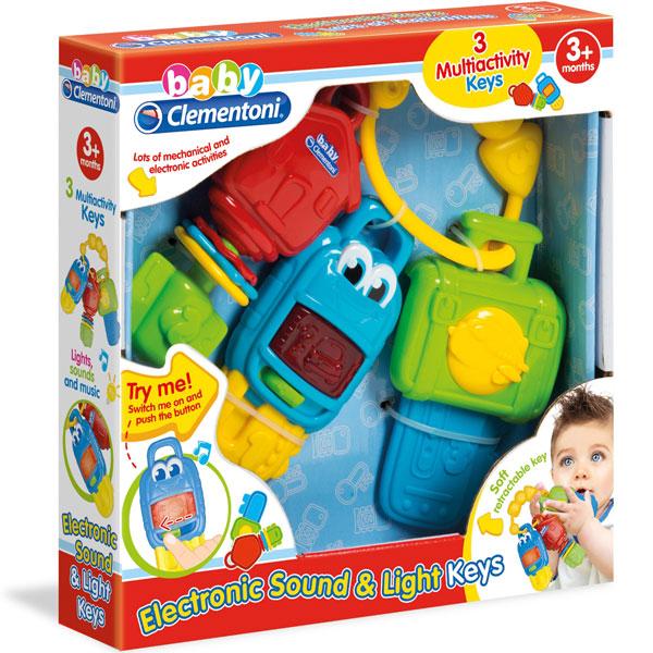 Ključevi Aktivity baby Clementoni CL17107 - ODDO igračke
